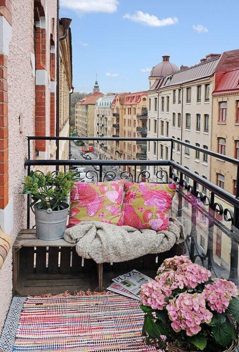 Uredite mali balkon